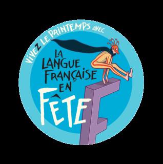 logo langue française en fête